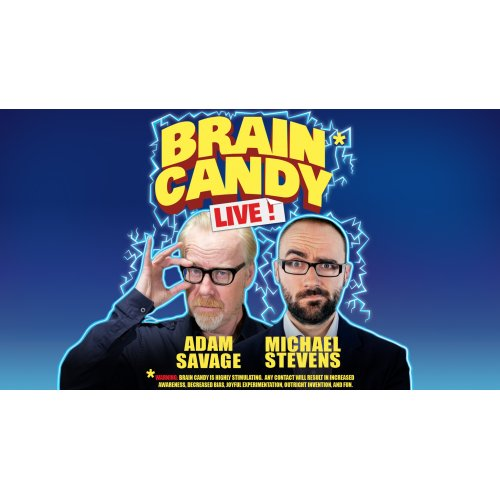 The Brain Candy Live Tour: Adam Savage & Michael Stevens at Majestic Theatre Dallas