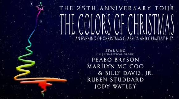 The Colors Of Christmas: Peabo Bryson, Marilyn Mccoo & Billy Davis Jr.  at Majestic Theatre Dallas