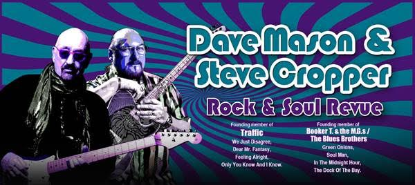 Dave Mason & Steve Cropper at Majestic Theatre Dallas