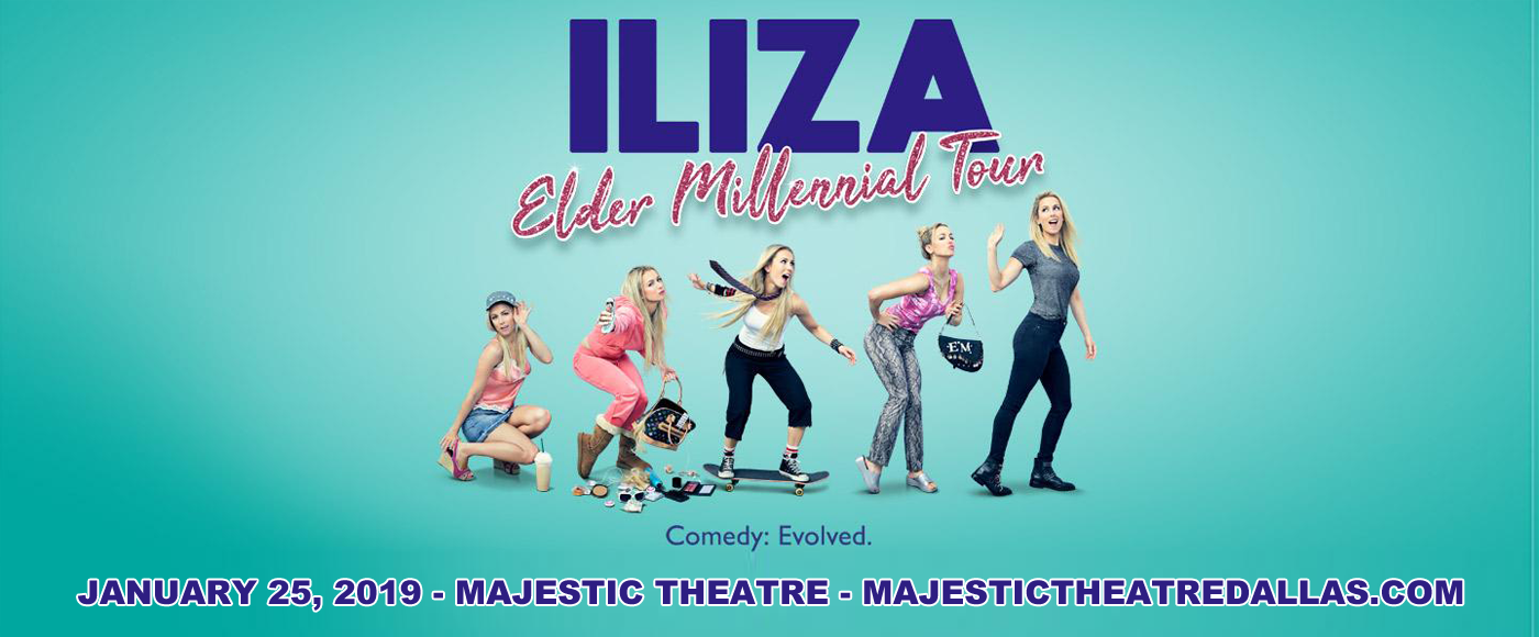 Iliza Shlesinger Tickets 25th January Majestic Theatre