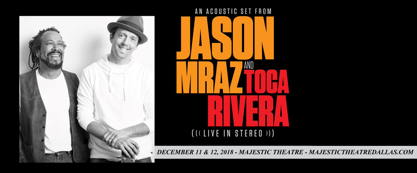 Jason Mraz at Majestic Theatre Dallas
