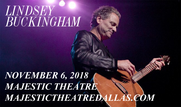 Lindsey Buckingham at Majestic Theatre Dallas