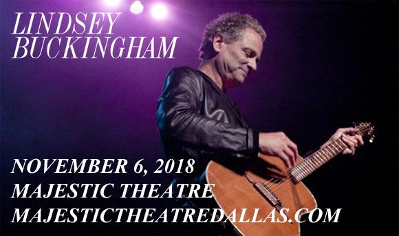 Lindsey Buckingham at Majestic Theatre Dallas