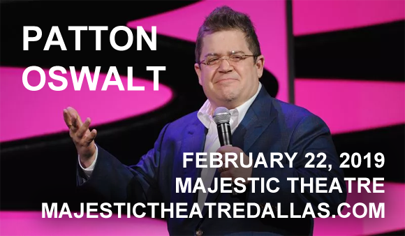 Patton Oswalt at Majestic Theatre Dallas