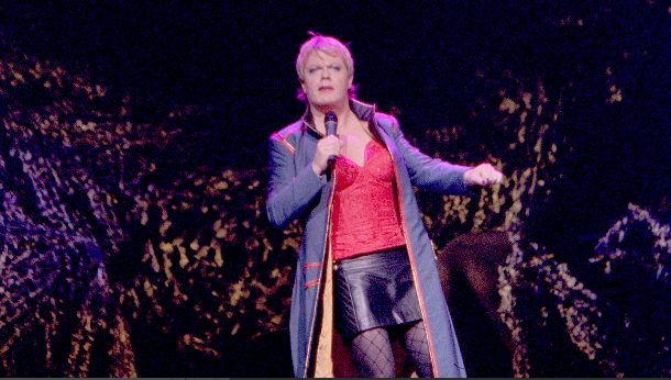 Eddie Izzard at Majestic Theatre Dallas