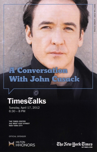 John Cusack at Majestic Theatre Dallas