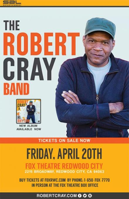 Robert Cray Band at Majestic Theatre Dallas