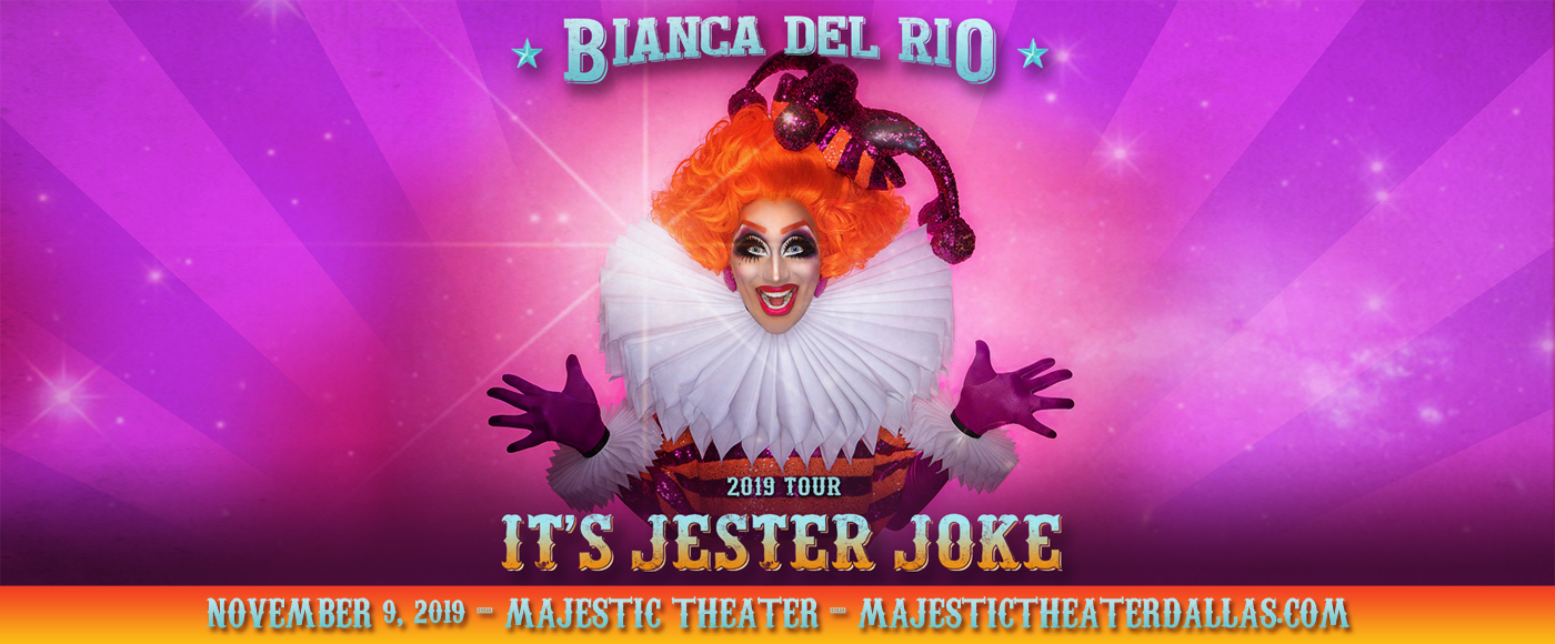 Bianca Del Rio at Majestic Theatre Dallas