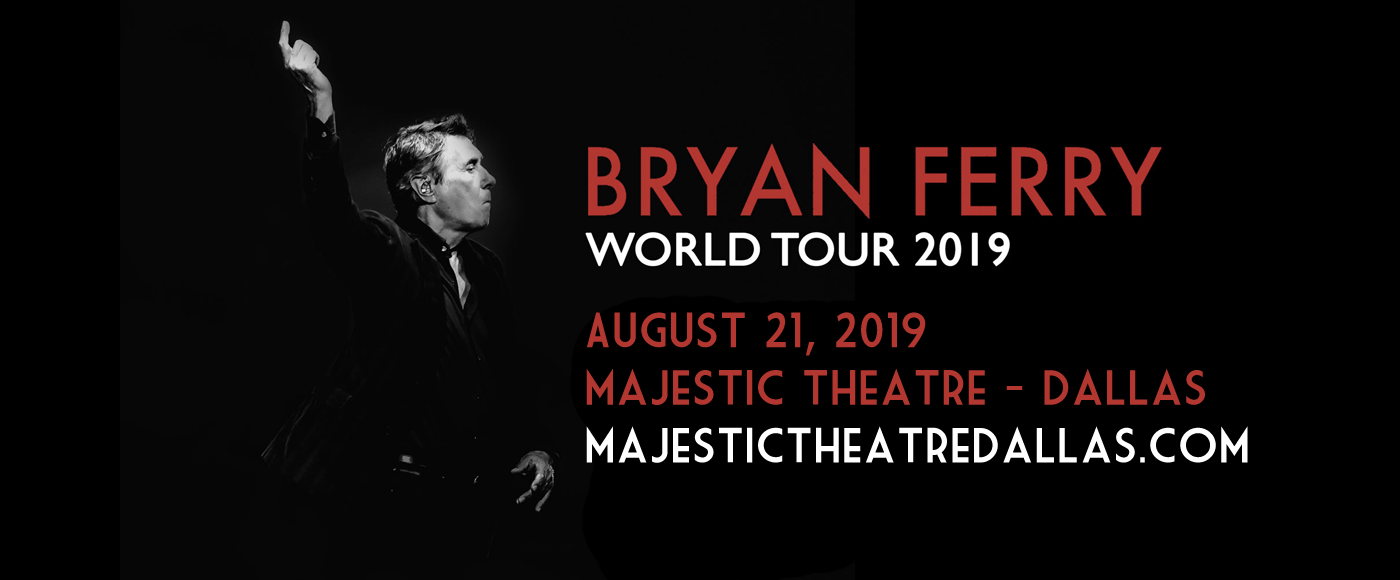 Bryan Ferry at Majestic Theatre Dallas