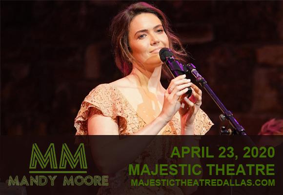 Mandy Moore at Majestic Theatre Dallas