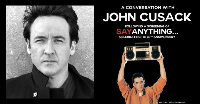 A Live Conversation with John Cusack & High Fidelity Screening [CANCELLED] at Majestic Theatre Dallas