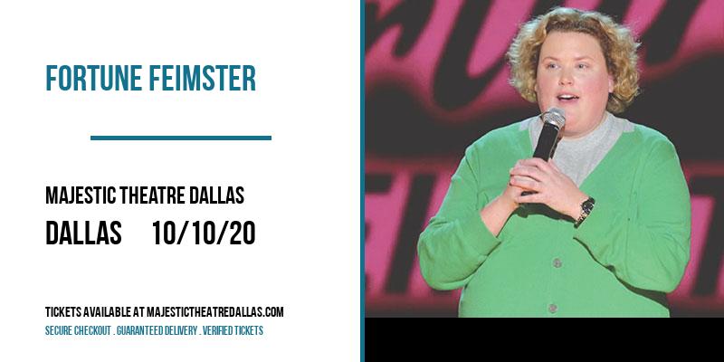 Fortune Feimster [POSTPONED] at Majestic Theatre Dallas