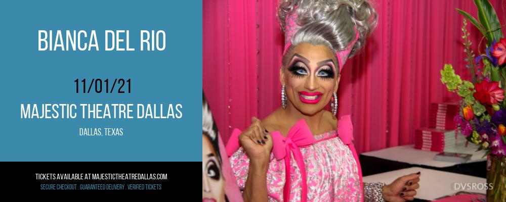 Bianca Del Rio at Majestic Theatre Dallas