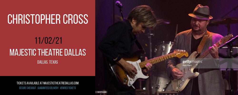 Christopher Cross at Majestic Theatre Dallas