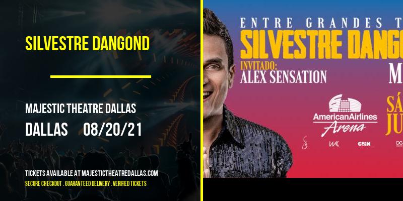 Silvestre Dangond [CANCELLED] at Majestic Theatre Dallas