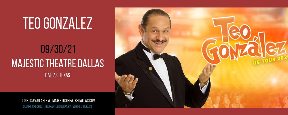 Teo Gonzalez at Majestic Theatre Dallas